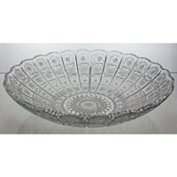 Crystal bowl 31cm. Classic Collection.