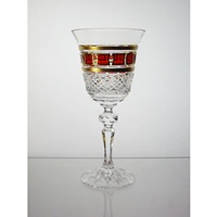 Replacement white wine glass for Red Gold Collection.