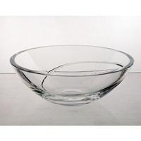 Coupe en cristal 23cm. Collection La Spirale.