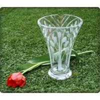 Vase en cristal 23cm. Collection Nostalgie.