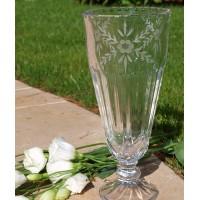 Vase en cristal 27,5 cm. Décoration Venezia.