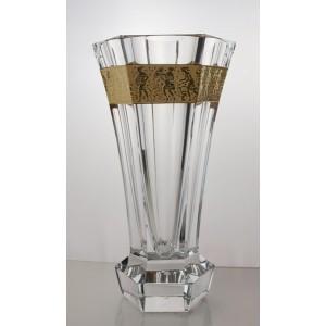 La maison du cristal vase moser dor unity 28cm - La maison du cristal ...