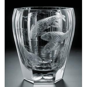 La Maison Du Cristal Vase Moser Eau Grav 20cm