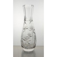 Crystal Vase 18cm. Flower decoration.