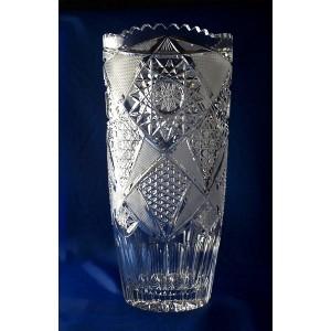 Vase en cristal 31cm d coration fantasia - La maison du cristal ...