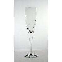Coffret de 6 verres à Champagne. Collection La Spirale.