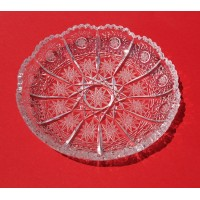 Crystal plate 14cm. Classic Collection.