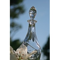 Crystal decanter 1.05l. Spiral Collection.