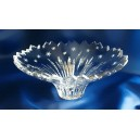 Crystal bowl 20cm. Starlight Collection.