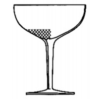 Champagne coupe. Royal Collection.