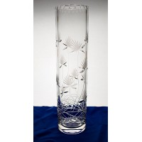 Crystal Vase 41cm. Flower decoration.